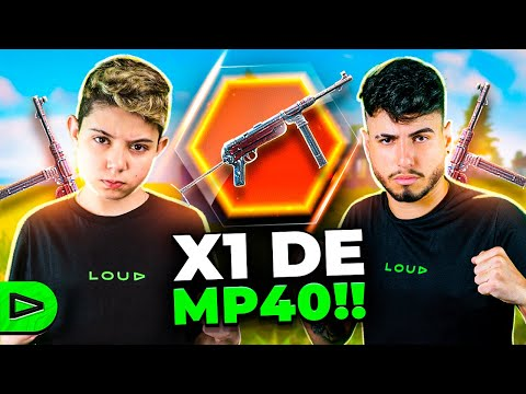 (New) X1 de mp40 entre thurzin e dacruz na loud free fire!!
