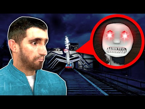 (New) Cursed thomas the train is after me! - garrys mod gameplay
