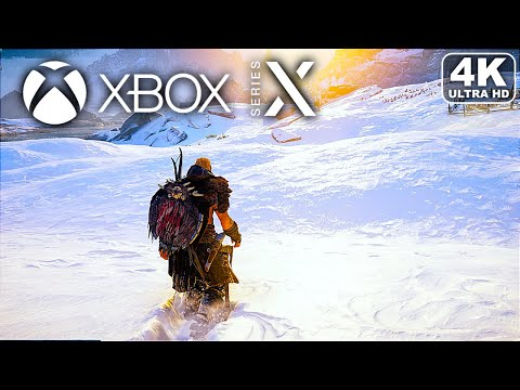 (New) Assassins creed valhalla xbox series x gameplay (optimized) (4k 60fps)