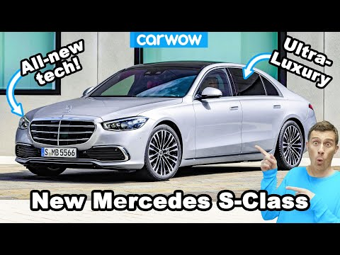 (New) New mercedes s-class - see why its their most luxurious car ever!