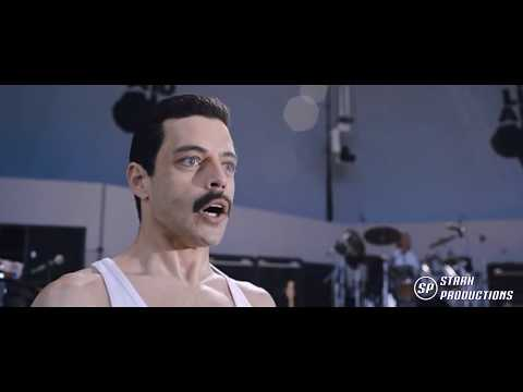 (New) Bohemian rhapsody - we are the champions (live aid 4 4) [1080p]