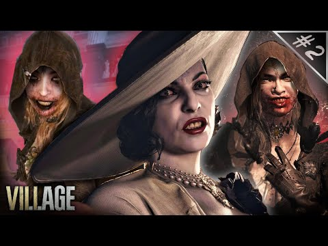 (New) Tall lady introduces us to her bloodthirsty daughters || resident evil: village #2 (playthrough)