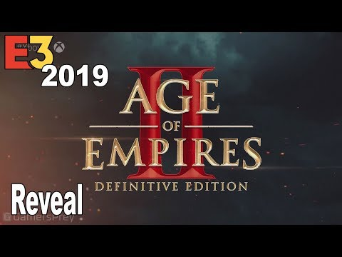 (New) Age of empires ii: definitive edition - reveal trailer e3 2019 [hd 1080p]