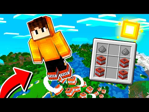 (New) Ganhamos novas botas de tnt no minecraft!
