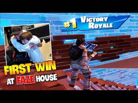 (VFHD Online) Faze h1ghsky1 *first win* at the faze house ( solo arena mode! )