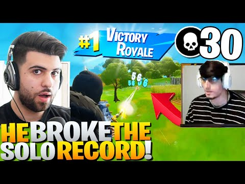 (VFHD Online) My brother broke the solo elim record in arena! - fortnite battle royale