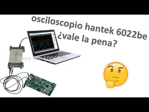 (HD) Osciloscopio hantek 6022be ¿vale la pena? (review)
