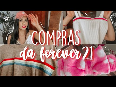 (New) Compras na forever 21!