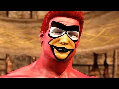 (New) Mortal kombat xl - angry birds johnny cage pc mod performs intro dialogues vs all characters