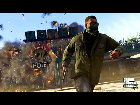 (New) Grand theft auto v (gta 5) game movie all cutscenes xbox one 1080p hd