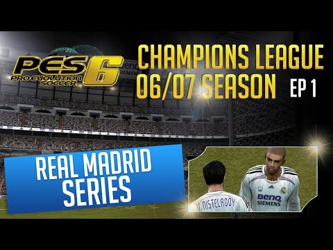(New) [ttb] pes 6 - champions league season 06 07 - real madrid series begins!