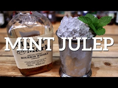 (HD) Mint julep cocktail recipe