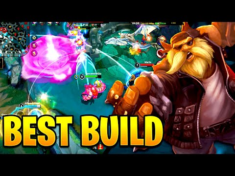 (VFHD Online) Best gragas build and guide for wild rift! gragas gameplay!