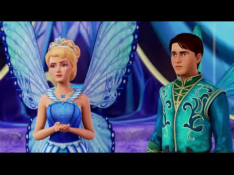 (New) Barbie™ butterfly e a princess fairy |filme complete blu ray|disney