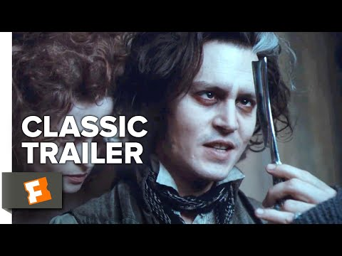 (New) Sweeney todd: the demon barber of fleet street (2007) trailer #1 | movieclips classic trailers