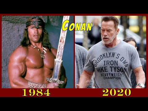 (Ver Filmes) Conan the destroyer then and now