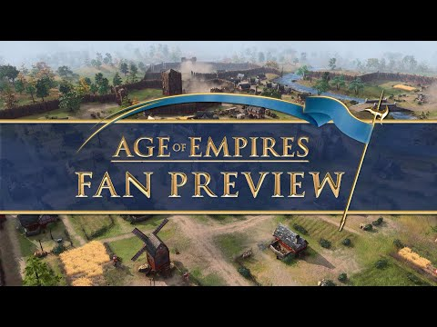 (New) Age of empires: fan preview [french]