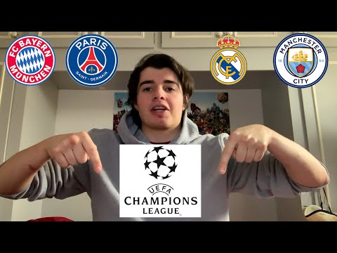 (New) Lets talk about the champions league quarter final draw 2020-21!