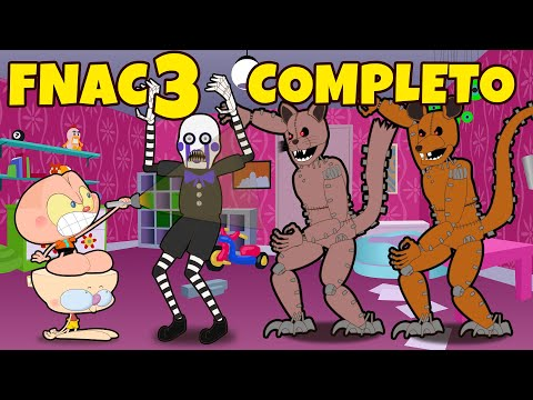 (HD) Mongo e drongo em five nights at candys 3 - fnac 3 - completo - todas as 6 noites