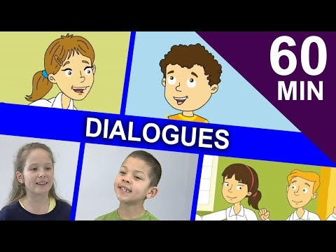 (Ver Filmes) Simple kids dialogues | one hour collection of easy english stories