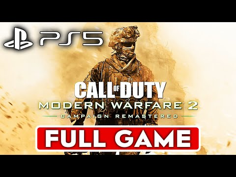 (New) Call of duty modern warfare 2 remastered ps5 gameplay walkthrough part 1 campaign full game 4k 60fps