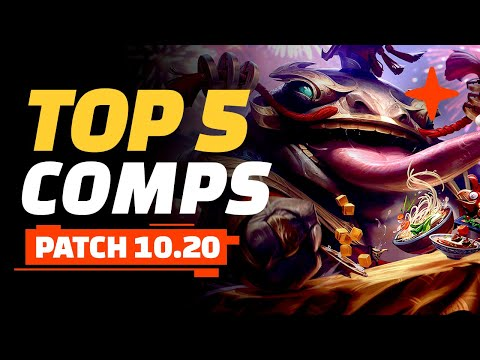 (New) Top 5 tft comps - teamfight tactics patch 10.20 guide