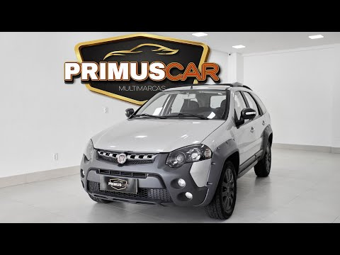 (New) Fiat palio weekend adventure 1.8 flex 2018 - primus car