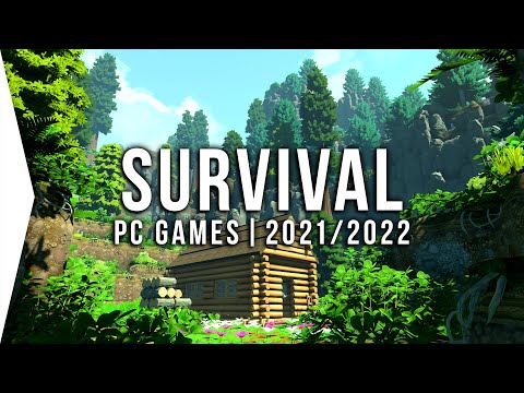 (New) 15 new upcoming pc survival games in 2021 e 2022 ► open world, crafting, base building!
