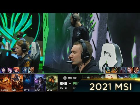 (New) Chazz plays lee sin mid - rng vs pgg highlights - 2021 msi day 1