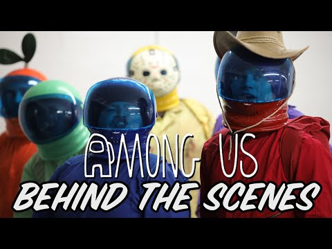 (New) Among us but its a reality show 4 - behind the scenes