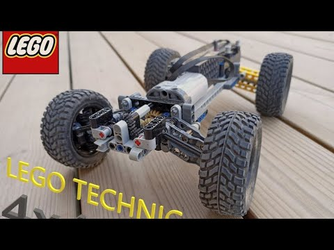 (New) Lego technic rc 4x4 mini buggy with buwizz and rc buggy motor!