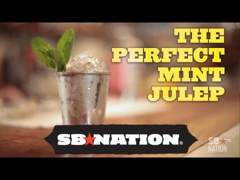 (HD) Kentucky derby drink recipes: the best mint julep