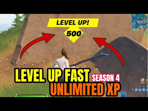 (HD) Level up fast - new unlimited xp glitch in fortnite chapter 2 season 4