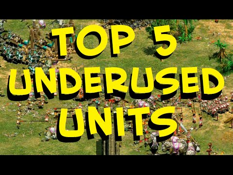 (New) Top 5 aoe2 units newer players should use more often