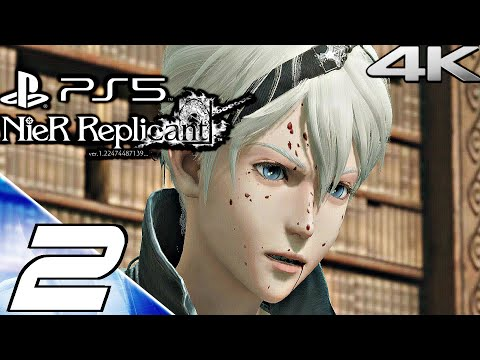 (New) Nier replicant ps5 gameplay walkthrough part 2 - geppetto e hook boss fight (4k 60fps) full game