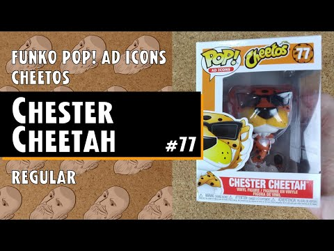 (New) Funko pop ad icons: cheetos - chester cheetah - #77    just one pop showcase