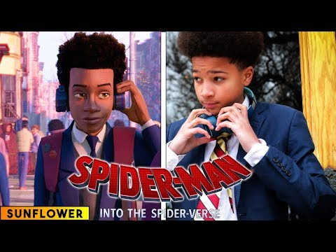 (Ver Filmes) Sunflower - spiderman: into the spider verse - in real life