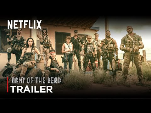 (New) Army of the dead (2021) zack snyder movie teaser trailer | netflix