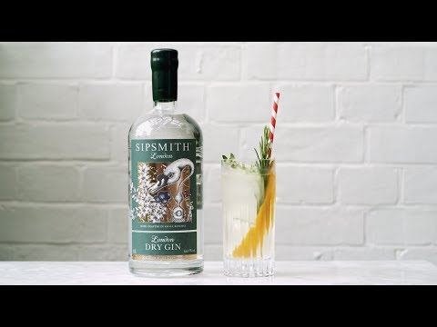 (New) How to make a sipsmith london dry gin cocktail!