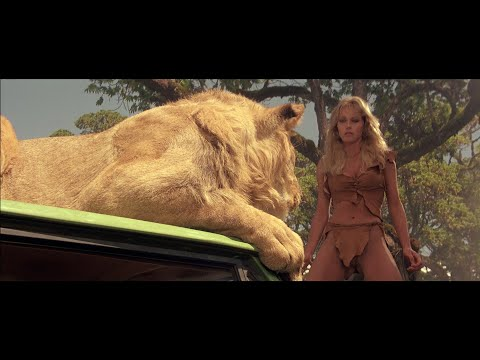 (Ver Filmes) Sheena (1984) - 3 - one of the best animals scene in movies ever (no cg)