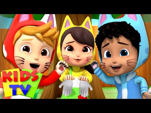 (VFHD Online) Three little kittens + more nursery rhymes e kids songs | baby cartoon | childrens music - kids tv