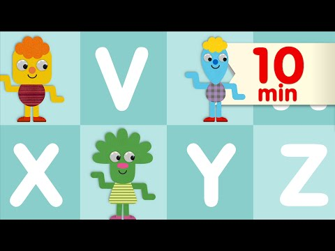 (Ver Filmes) The alphabet chant + more | abc songs | super simple songs