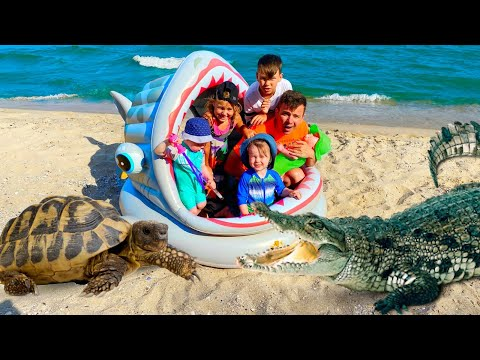 (Ver Filmes) Five kids beach song + more childrens songs and videos