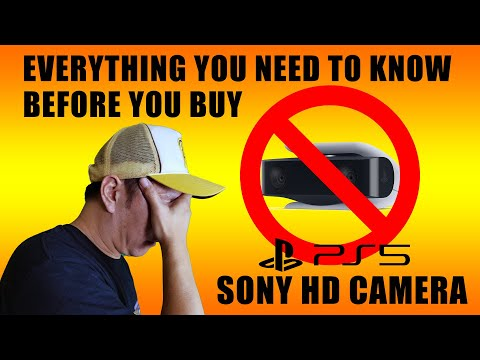 (New) The sony ps5 hd camera. a honest review and everything you need to know before you buy.