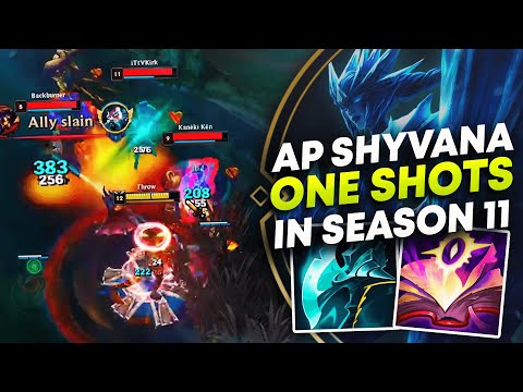 (New) Ap shyvana one shots in season 11 | league of legends