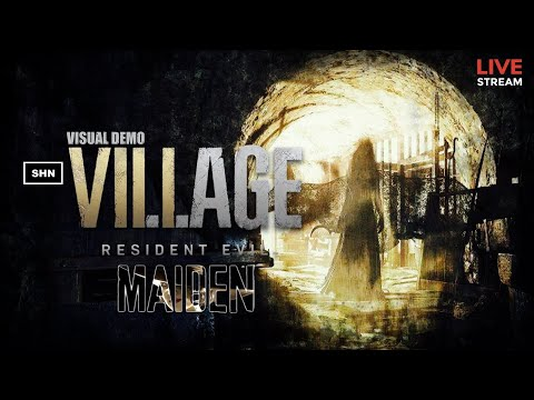 (New) Resident evil 8 village maiden demo ps5 playthrough livestream no commentary ps5