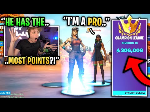 (VFHD Online) I met a pro player with 306,000 arena points in fortnite... (world record)