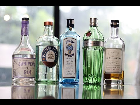 (HD) Gin collection - top 5 diverse picks