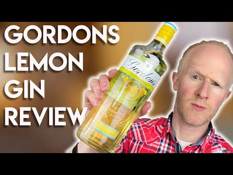 (New) Gordons sicillian lemon gin review!