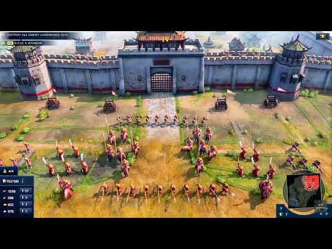 (New) Age of empires 4 gameplay reveal!